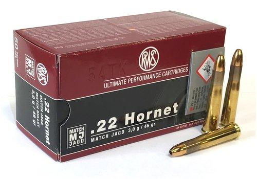 OSA2228-RWS MATCH JAGD 22 HORNET 46GR 50RNDS