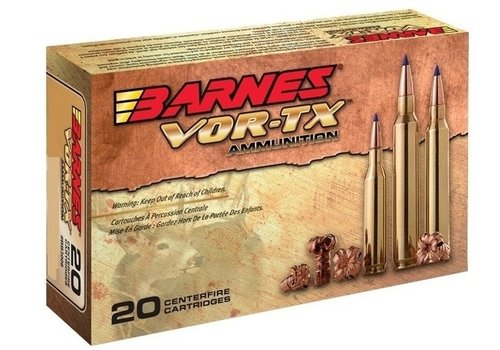 RAY361-BARNES VOR-TX 243 WIN 80GR TTSX BT 20RNDS