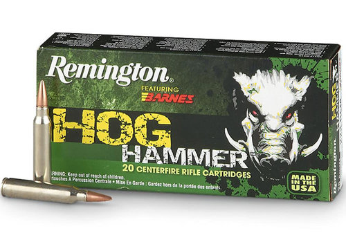 REMINGTON HOG HAMMER 30-30 WIN 150GR BARNES TSX FB 20RNDS (RAY1989)