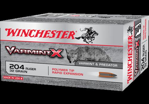WINCHESTER VARMINT X 204 RUGER 32GR PT 20RNDS (WIN1167)