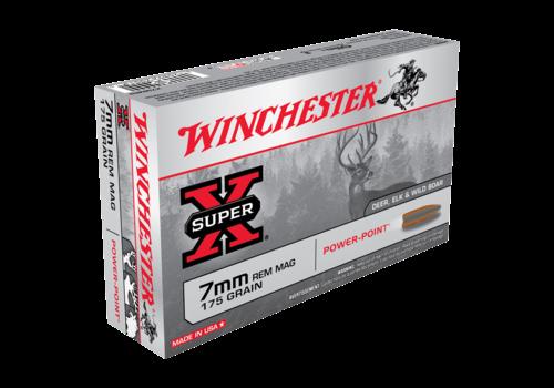 WIN1189-WINCHESTER SUPER X 7MM REM MAG 175GR PP 20RNDS