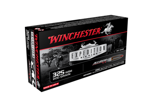 WIN1478-WINCHESTER EXPEDITION BIG GAME 325 WSM 200GR ABCT 20RNDS