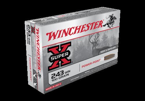 WIN238-WINCHESTER SUPER X 243 WIN 100GR PSP 20RNDS