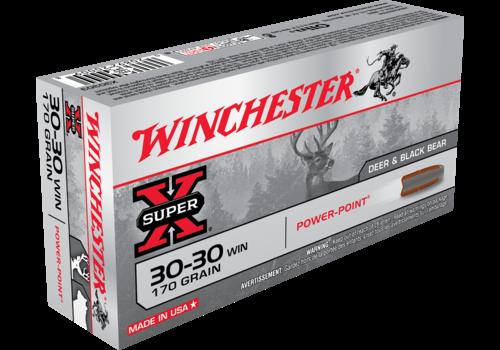WINCHESTER SUPER X 30-30 WIN 170 GR PP 20RNDS (WIN247)