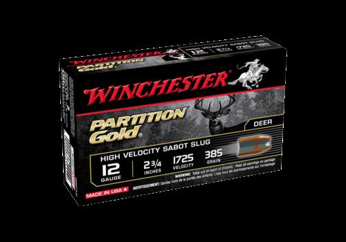 WIN2339-WINCHESTER PARTITION GOLD 12G 385GM 70MM #SLUG 1725FPS 5RNDS