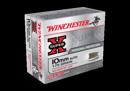 WINCHESTER SUPER X 10MM AUTO 175GR STHP 20RNDS (WIN069)