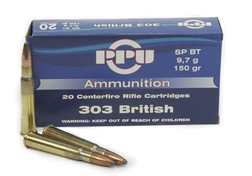 OSA1686-PPU 303 BRITISH 150GR SP BT 20RNDS