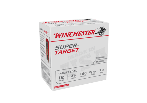 SLAB-WINCHESTER SUPER TARGET 12G 28GM #7.5 1350FPS 250RNDS (WIN1119)