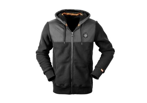 HUNTERS ELEMENT RETRO HOODIE BLACK