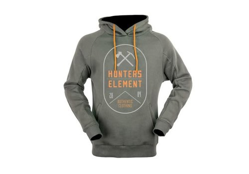 HUNTERS ELEMENT GRANITE HOODIE DARK GREY