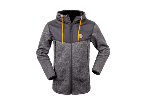 HUNTERS ELEMENT ALTA JACKET GREY MARLE/BLACK