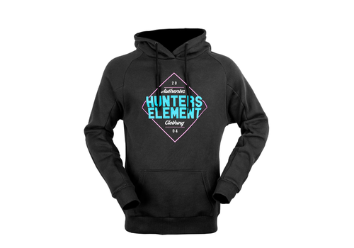 HUNTERS ELEMENT CRYSTAL HOODIE WOMENS BLACK