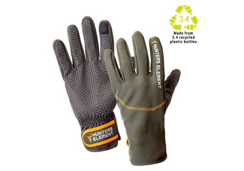 HUNTERS ELEMENT LEGACY GLOVES GREY/GREEN