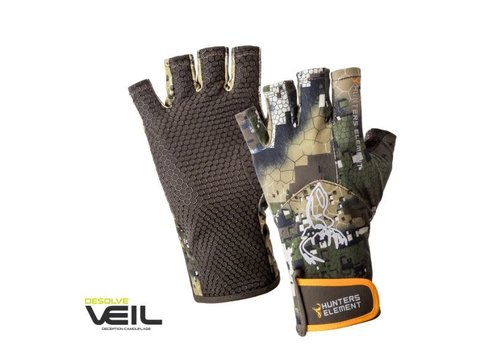 HUNTERS ELEMENT CRUX GLOVES FINGERLESS DESOLVE VEIL