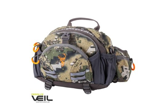 HUE370-HUNTERS ELEMENT DIVIDE BELT BAG DESOLVE VEIL