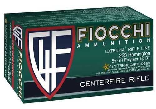 BOX-FIOCCHI 223 REM 55GR BT 200RNDS(TAS105)