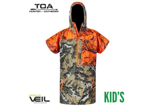 HUNTERS ELEMENT TAPUA BUSH COAT KIDS DESOLVE VEIL