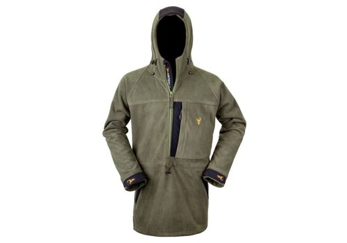 HUNTERS ELEMENT THE BUSHMAN HALF ZIP FOREST GREEN