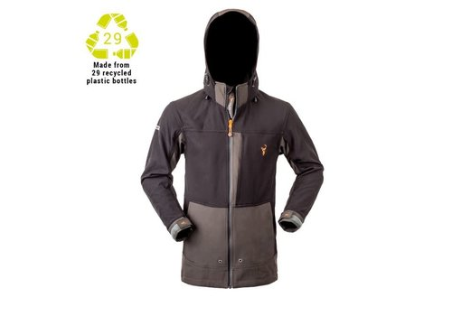 HUNTERS ELEMENT BOULDER JACKET GREY/BLACK
