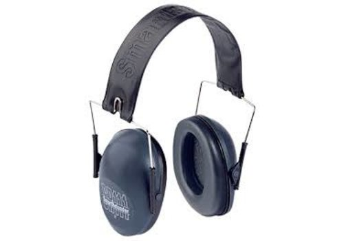 BER271-Smart Reloader Sr111 Standard Earmuffs Grey / Black