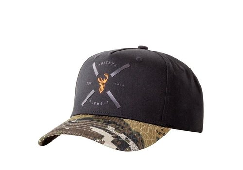 HUNTERS ELEMENT CROSS CAP DESOLVE VEIL/BLACK (HUE615)