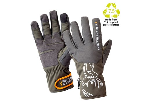 HUNTERS ELEMENT BLIZZARD GLOVES GREY/GREEN