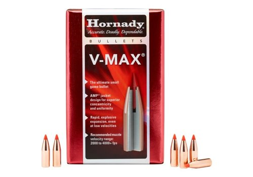 OSA1454-HORNADY V-MAX 22CAL .224 40GR 250PK #22416