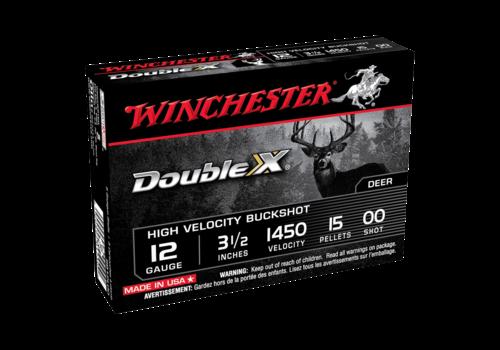 WINCHESTER DOUBLE X 12G BUCKSHOT #00 15P 1450FPS 5RNDS (WIN765)
