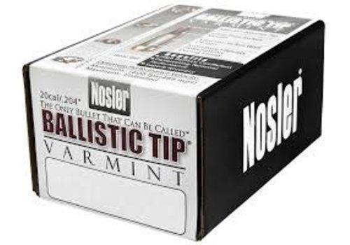 NIO1431-NOSLER BALLISTIC TIP VARMINT 204 SPITZER 40GR 100P # 52111