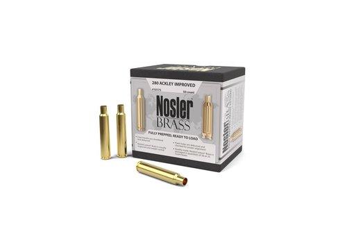 NIO2380-BRASS -NOSLER 280 ACKLEY IMPROVED 50P #10175