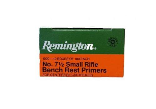 RAY643-PRIMERS-REMINGTON 7.5 SMALL RIFLE 100P