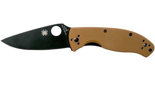 MOA018-KNIFE-SPYDERCO TENACIOUS BROWN BLACK