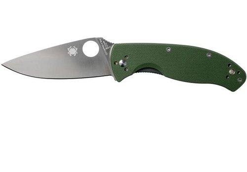 MOA020-KNIFE-SPYDERCO TENACIOUS GREEN SATIN