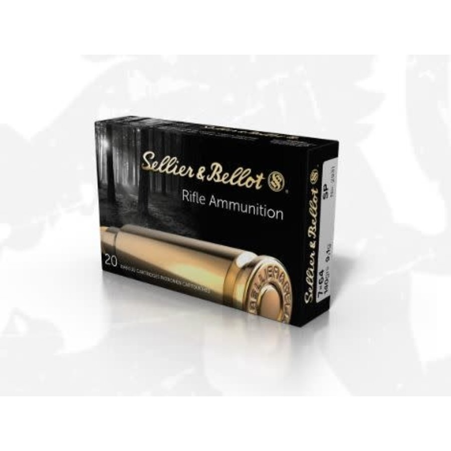 HES016-S&B 7X64 140GR SP 20RNDS