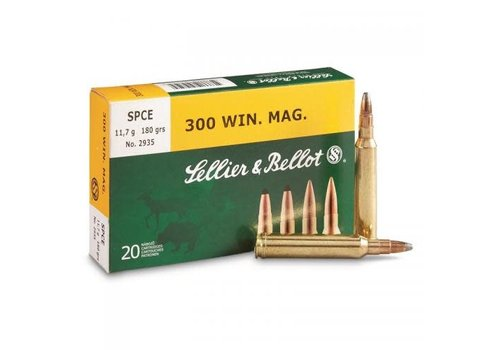 HES017-S&B 300 WIN MAG 180GR SPCE 20RNDS