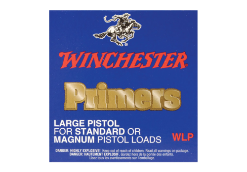 WIN654-PRIMERS-WINCHESTER WLP LARGE PISTOL 100P