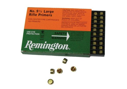 RAY430-PRIMERS-REMINGTON 9.5M LARGE RIFLE 100P