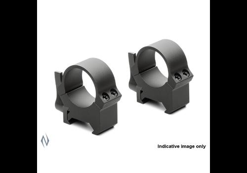 NIO2055-LEUPOLD QRW2 RINGS 1'' LOW MATT