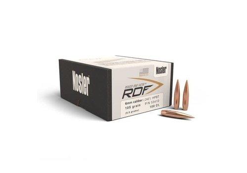 NOSLER RDF 6MM .243 105GR HPBT 100P #53410 (NIO2075)