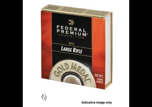 PRIMER-FEDERAL GM210M GOLD MEDAL LARGE RIFLE 100RNDS((NIO396)