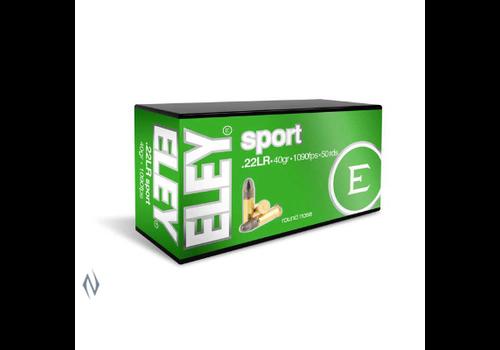ELEY SPORT 22LR 40GR 1090FPS 50RNDS(NIO092)