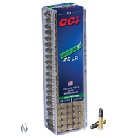 NIO392-CCI GREEN TAG 22LR 40GR 1070FPS LRN 100RNDS