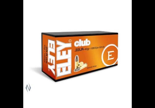 ELEY CLUB 22LR 40GR 1085FPS 50RNDS(NIO094)