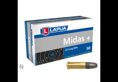 LAPUA MIDAS+ 22LR 40GR 1073FPS 50RNDS (NIO098)