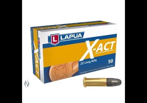 LAPUA X-ACT 22LR 40GR 1073FPS 50RNDS (NIO102)