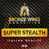 BRONZE WING BWA024-SLAB-BRONZE WING SUPER STEALTH 28GM #7.5 250RNDS