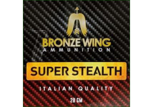 BWA024-SLAB-BRONZE WING SUPER STEALTH 28GM #7.5 250RNDS