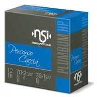 NSI PERCORSO CACCIA 12GA 70MM 36GM #BB (ITL #00) 1384FPS SLAB 250RNDS (BWA002)