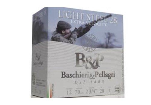 OSA1946-B&P BASCHIERI & PELLAGRI Lite Steel 12G 2-3/4INCH 28G 5 25RNDS