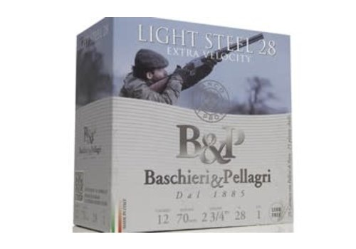 OSA1946-B&P LIGHT STEEL 12G 28GM #5 25RNDS